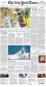 The New York Times – 26 July 2021