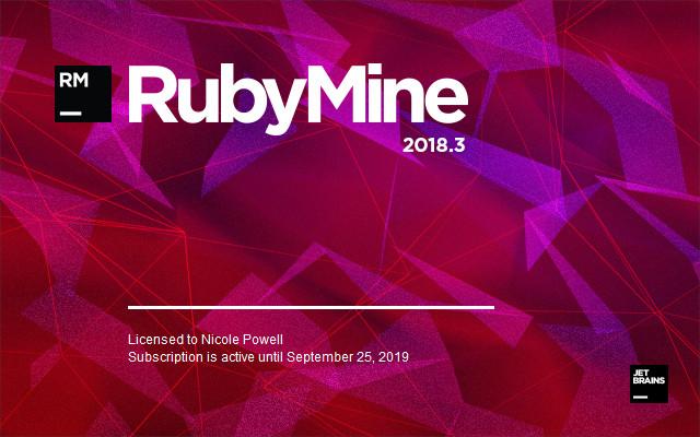 JetBrains RubyMine 2018.3.4 macOS