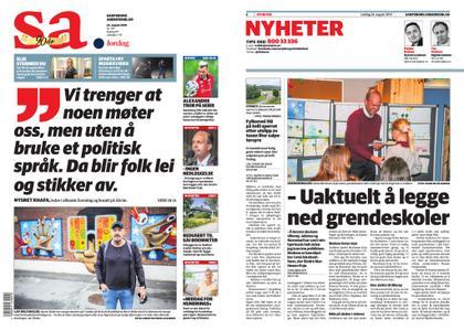Sarpsborg Arbeiderblad – 24. august 2019