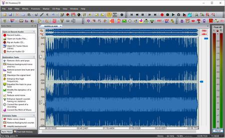 Diamond Cut Forensics10 Audio Laboratory 10.52