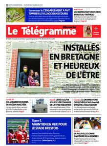 Le Télégramme Ouest Cornouaille – 25 avril 2021