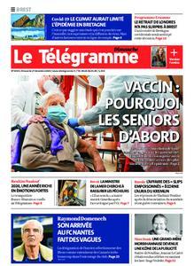 Le Télégramme Brest Abers Iroise – 27 décembre 2020