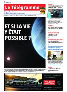 Le Télégramme Auray – 13 septembre 2019