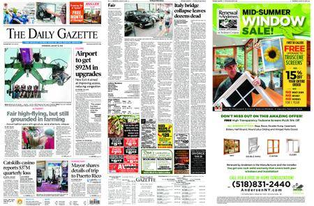 The Daily Gazette – August 15, 2018