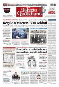 Il Fatto Quotidiano - 24 Dicembre 2017