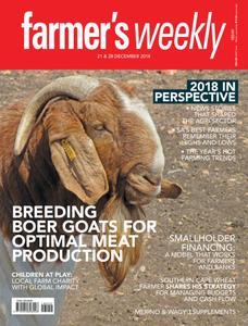 Farmer's Weekly - 21 December 2018