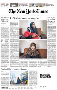 International New York Times - 21 February 2019