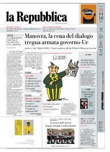 la Repubblica - 25 Novembre 2018