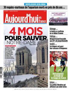 Aujourd'hui en France du Samedi 27 Avril 2019
