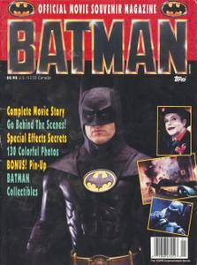 Batman Official Movie Souvenir Magazine 1989