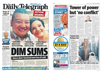 The Daily Telegraph (Sydney) – August 27, 2019