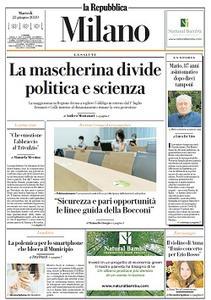 la Repubblica Milano - 23 Giugno 2020