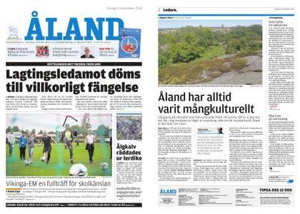 Ålandstidningen – 21 september 2018