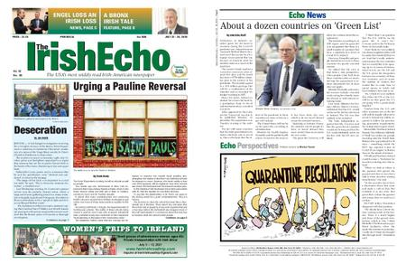 The Irish Echo – July 22, 2020