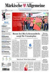 Märkische Allgemeine Zossener Rundschau - 17. Januar 2018