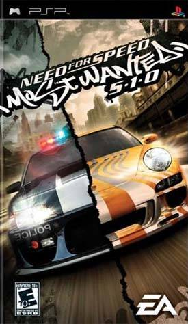 PSP Need for Speed Most Wanted