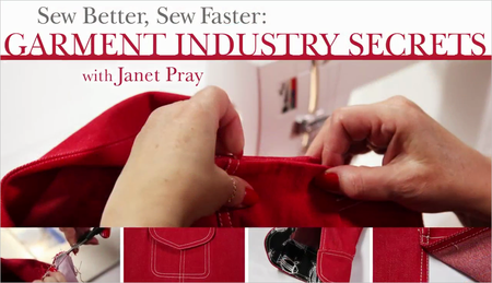 Craftsy - Sew Better, Sew Faster: Garment Industry Secrets