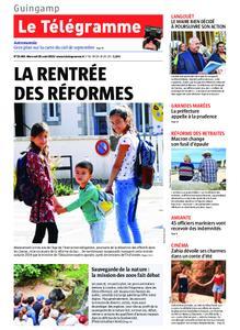 Le Télégramme Guingamp – 28 août 2019