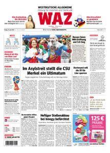 WAZ Westdeutsche Allgemeine Zeitung Oberhausen-Sterkrade - 15. Juni 2018