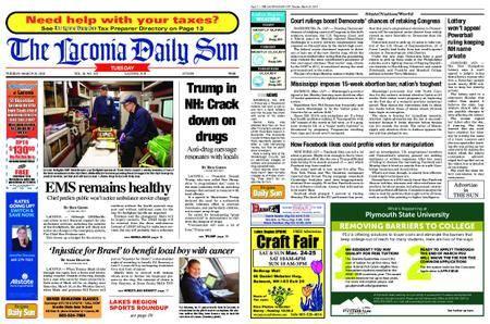 The Laconia Daily Sun – March 20, 2018