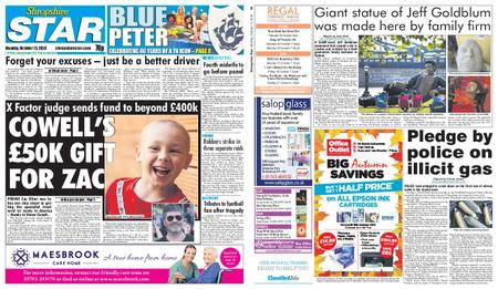 Shropshire Star Shrewsbury Edition – October 15, 2018