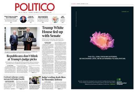 Politico – October 17, 2017