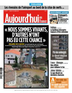Aujourd'hui en France du Mardi 16 Octobre 2018