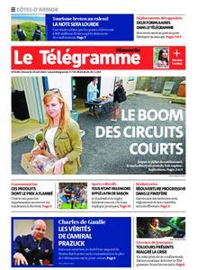 Le Télégramme Guingamp – 19 avril 2020