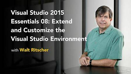Lynda - Visual Studio 2015 Essentials 08: Extend and Customize the Visual Studio Environment