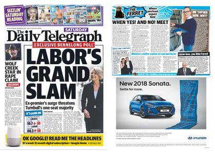 The Daily Telegraph (Sydney) – November 18, 2017