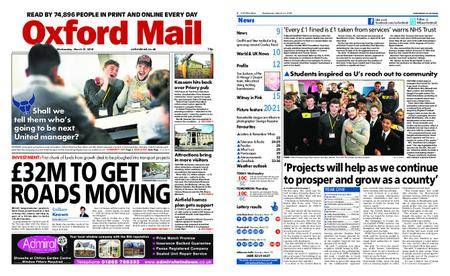 Oxford Mail – March 21, 2018