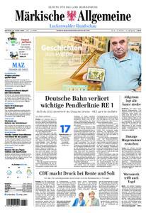Märkische Allgemeine Luckenwalder Rundschau - 15. Januar 2019