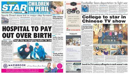 Shropshire Star Shrewsbury Edition – February 06, 2018