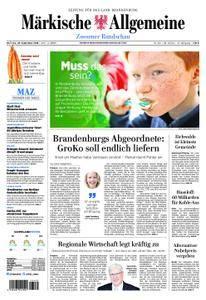 Märkische Allgemeine Zossener Rundschau - 25. September 2018