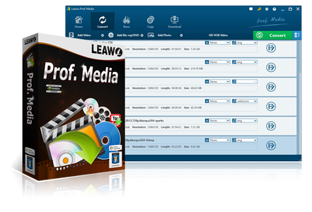 Leawo Prof. Media 8.1.0.0 Multilingual + Portable