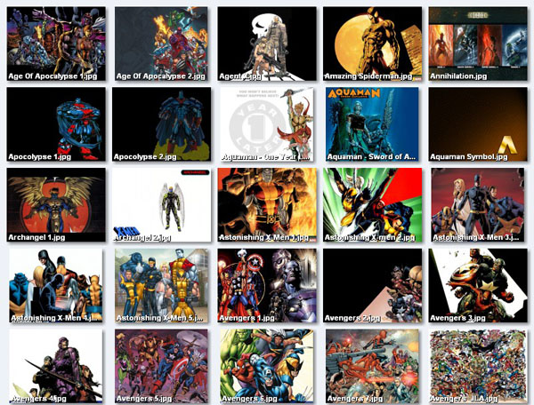 270 Comic Book Character Wallpapers