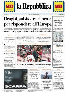 la Repubblica - 9 Febbraio 2021