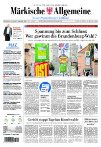 Neue Oranienburger Zeitung - 31. August 2019