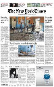 International New York Times - 25 September 2018
