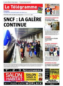 Le Télégramme Landerneau - Lesneven – 30 octobre 2019