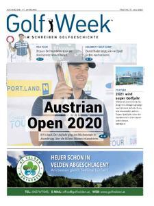 Golf Week – Juli 2020