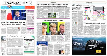 Financial Times Europe – September 26, 2017