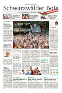 Schwarzwälder Bote Blumberg - 21. September 2019