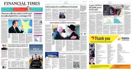 Financial Times UK – September 27, 2017