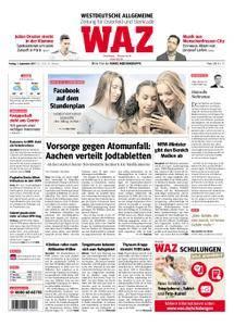 WAZ Westdeutsche Allgemeine Zeitung Oberhausen-Sterkrade - 01. September 2017