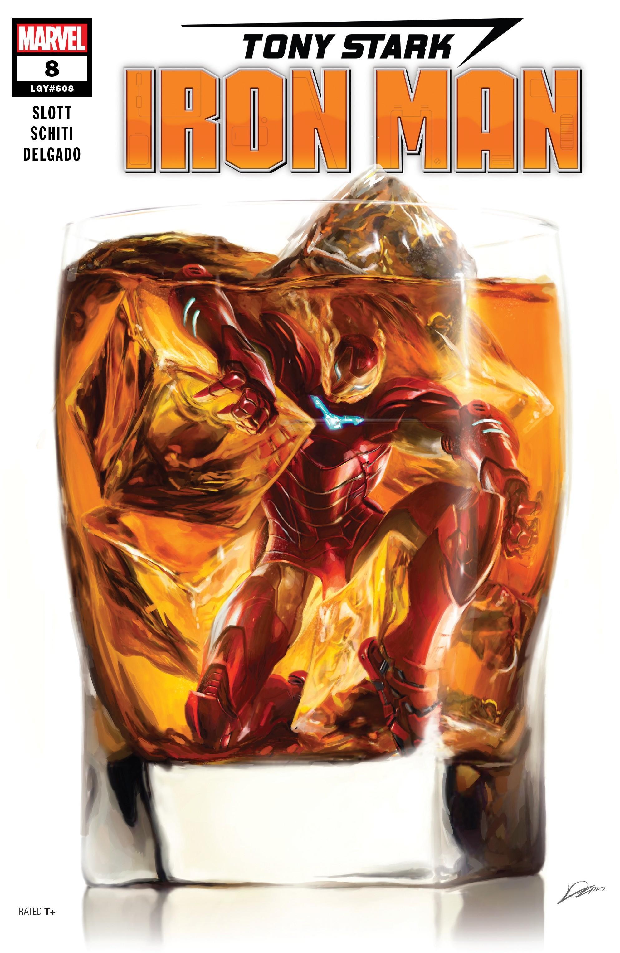 Tony Stark-Iron Man 008 2019 Digital Zone