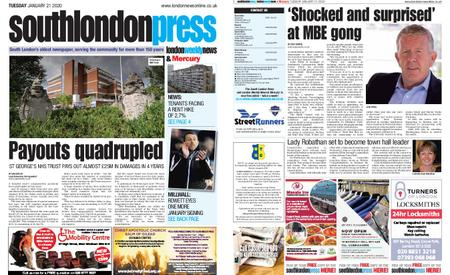 South London Press – January 21, 2020