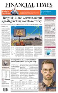 Financial Times Middle East - July 31, 2020