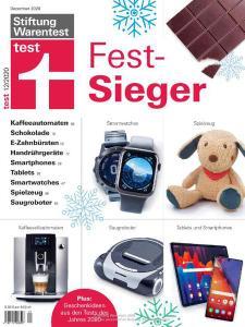 Stiftung Warentest Test Magazin - Dezember 2020