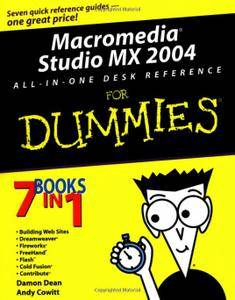 Macromedia Studio MX 2004 All-in-One Desk Reference For Dummies (Repost)